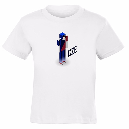 Figurine - CHILDREN'S WHITE T-SHIRT